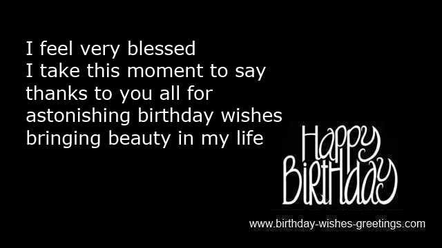 Best ideas about Thanks Quotes For Birthday Wishes . Save or Pin All Thank You Birthday Quotes QuotesGram Now.