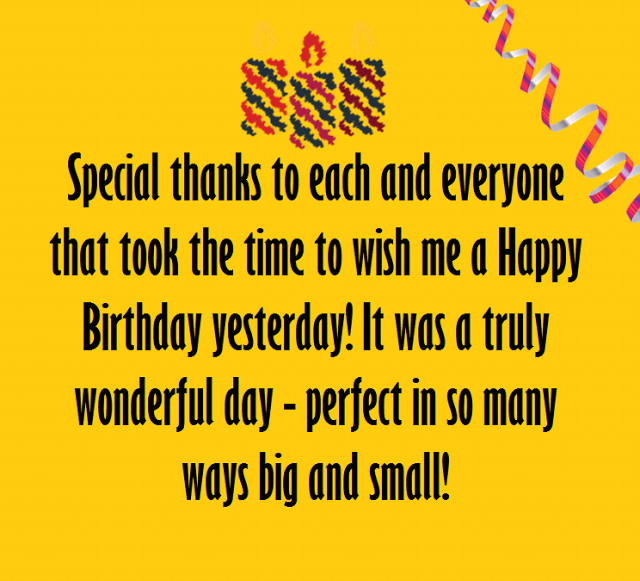 Best ideas about Thanks Quotes For Birthday Wishes . Save or Pin Thank You Messages for Birthday Wishes Now.