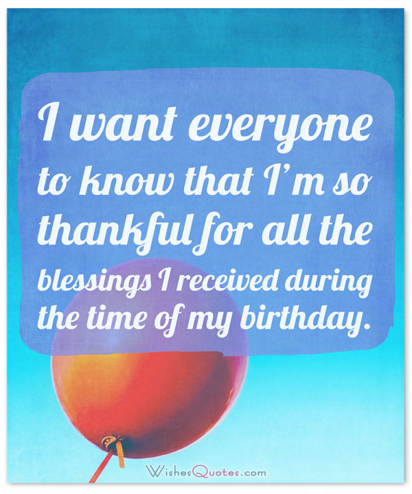 Best ideas about Thanks Quotes For Birthday Wishes . Save or Pin Birthday Thank You Messages The plete Guide – WishesQuotes Now.