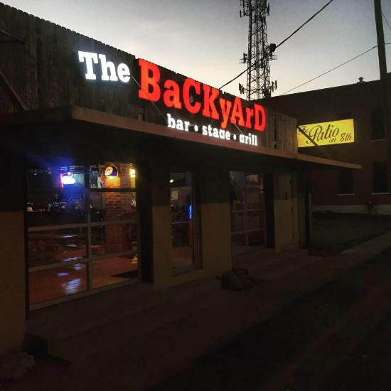 Best ideas about The Backyard Waco . Save or Pin The Backyard Bar Stage and Grill Waco Menu Prices Now.