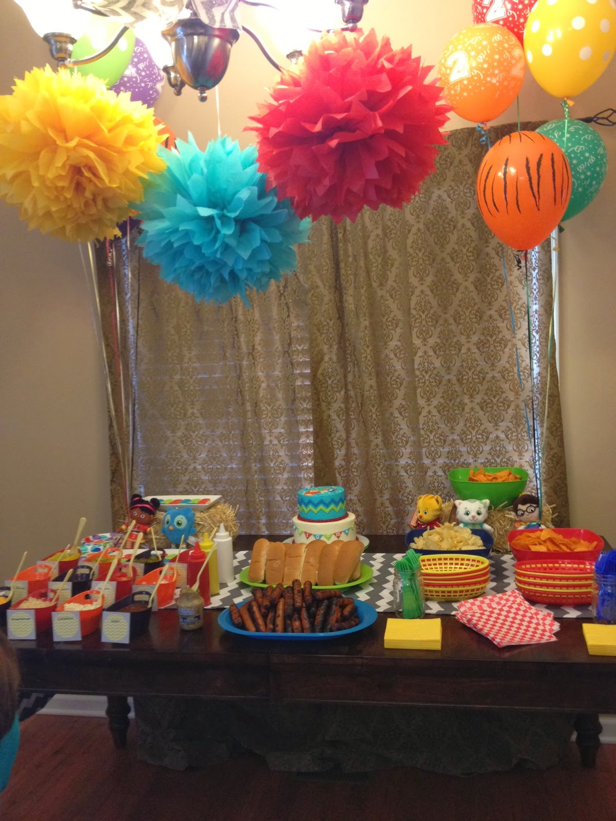 Best ideas about The Birthday Party . Save or Pin The Southern Front Door Montgomery s Daniel Tiger 2nd Now.