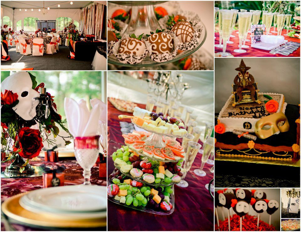 Best ideas about The Birthday Party . Save or Pin Phantom of the Opera Birthday Party Now.