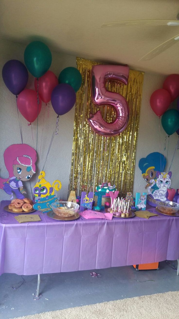 Best ideas about The Birthday Party . Save or Pin Shimmer and Shine Birthday Party Parties Now.