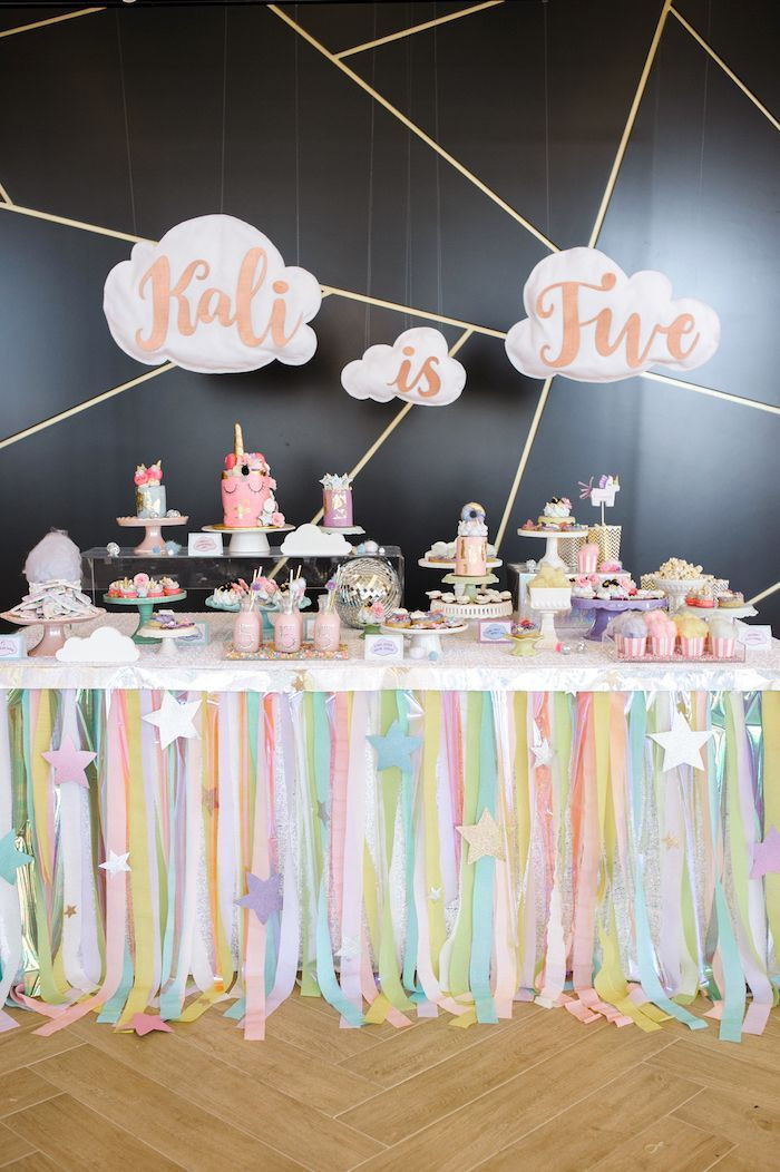 Best ideas about The Birthday Party . Save or Pin Geometrical Magical Unicorn Party Party Now.