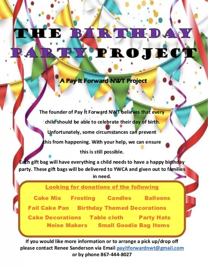 Best ideas about The Birthday Party Project . Save or Pin The Birthday Party Project My Yellowknife Now Now.