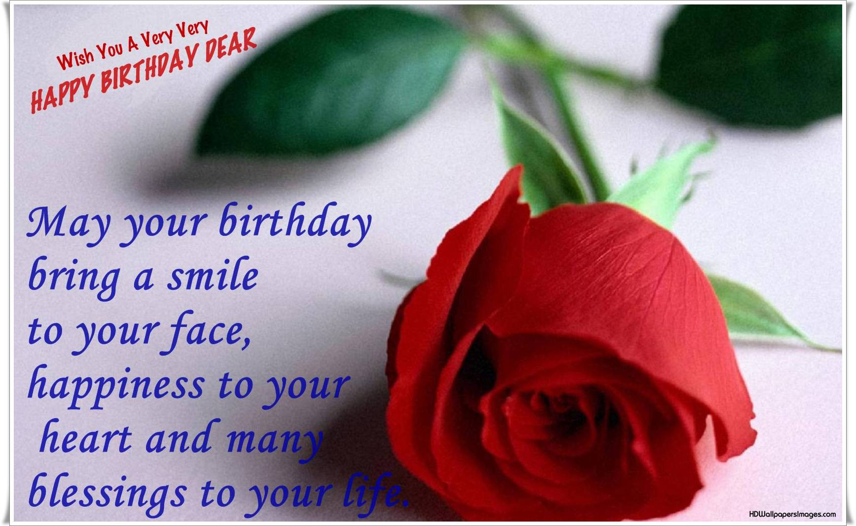 Best ideas about The Birthday Wish . Save or Pin birthday wishes Free Now.