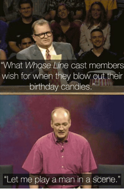 Best ideas about The Birthday Wish Cast . Save or Pin What Whose Line Cast Members Wish for When They Blowout Now.
