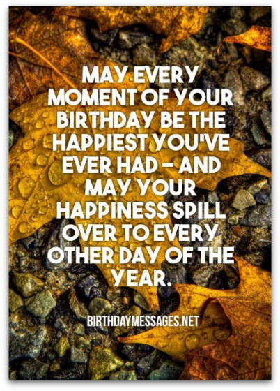 Best ideas about The Birthday Wish . Save or Pin Birthday Wishes 6000 of the Best Birthday Messages Now.
