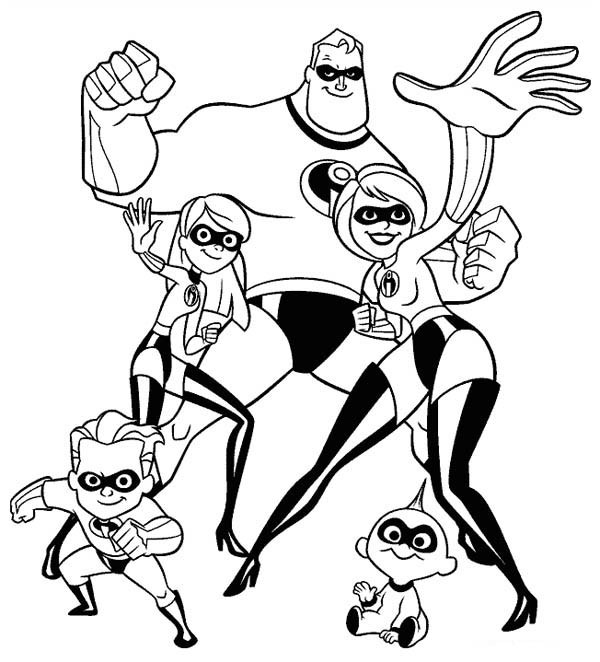 Best ideas about The Incretbls 2 Cute Vilit Coloring Pages For Girls . Save or Pin Adventures story of a superhero family The Incredibles 20 Now.