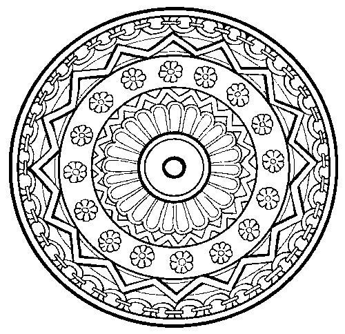 Best ideas about Therapeutic Coloring Pages For Kids . Save or Pin Art therapy mandalas alot to choose from Great stress Now.