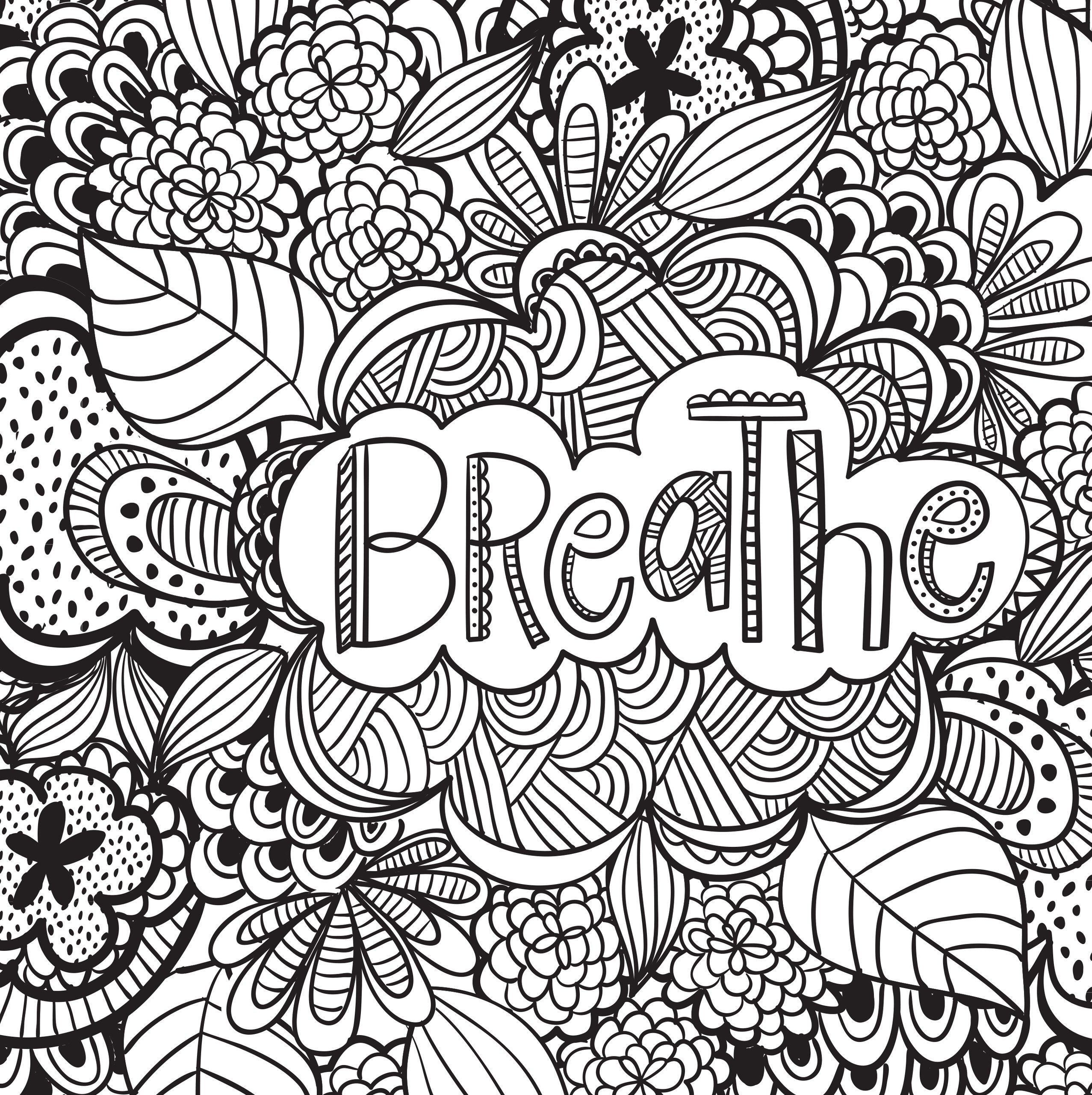 Best ideas about Therapeutic Coloring Pages For Kids . Save or Pin Joyful Inspiration Adult Coloring Book 31 stress Now.