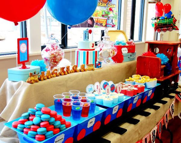 Best ideas about Thomas The Train Birthday Decorations . Save or Pin 21 Top Thomas the Train Party Ideas Spaceships and Laser Now.