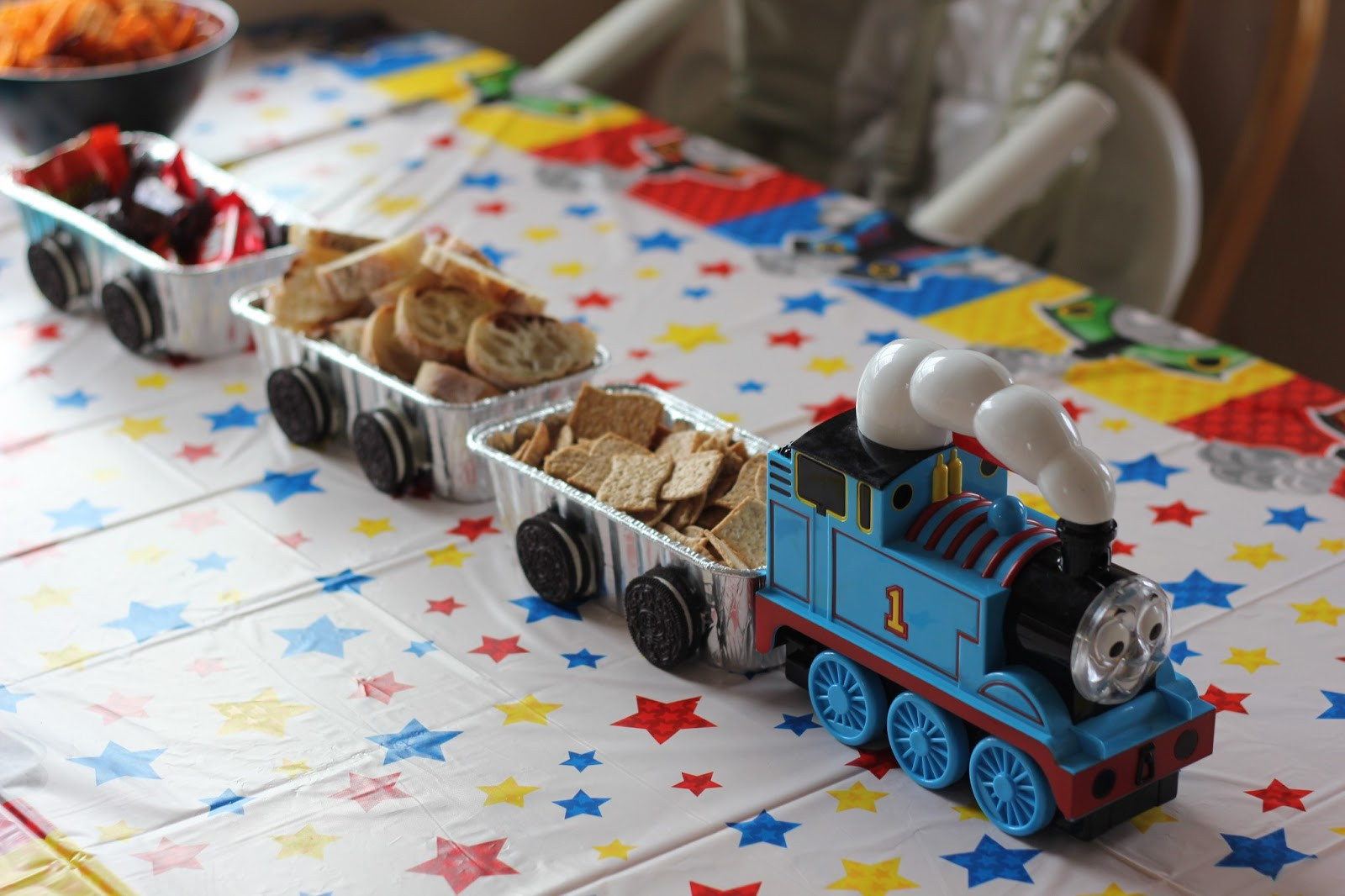 Best ideas about Thomas The Train Birthday Decorations . Save or Pin Number 1 Viking Fan A Thomas the Train Birthday Party Now.