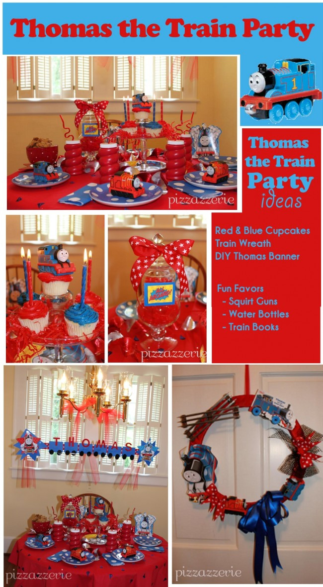 Best ideas about Thomas The Train Birthday Decorations . Save or Pin Thomas the Train Tank Party Ideas From a Mom Now.