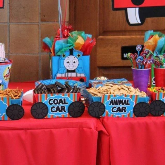 Best ideas about Thomas The Train Birthday Decorations . Save or Pin 17 Best images about Thomas the Train theme birthday party Now.