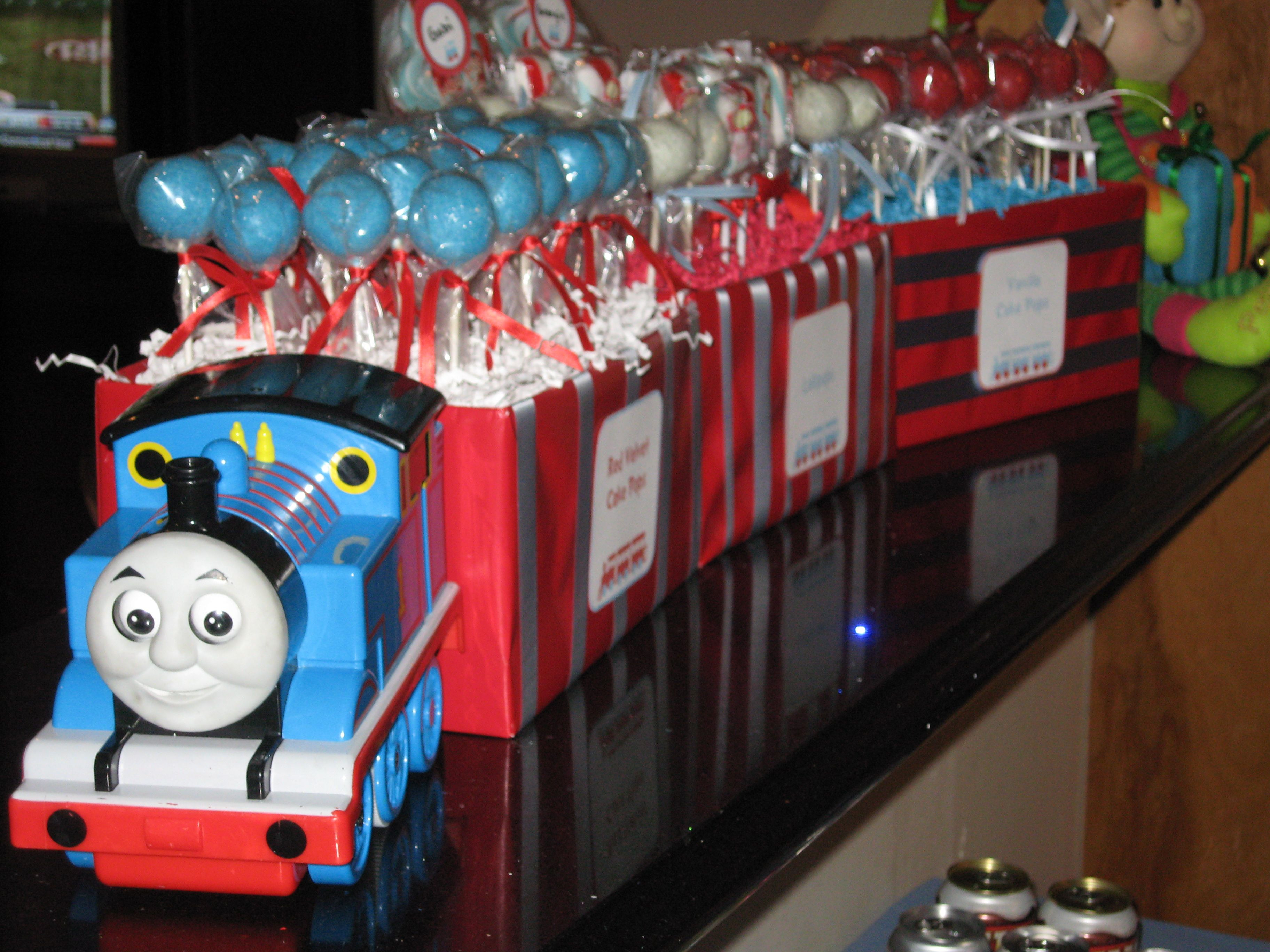 Best ideas about Thomas The Train Birthday Decorations . Save or Pin Kids Party Thomas the Tank trains on Pinterest Now.