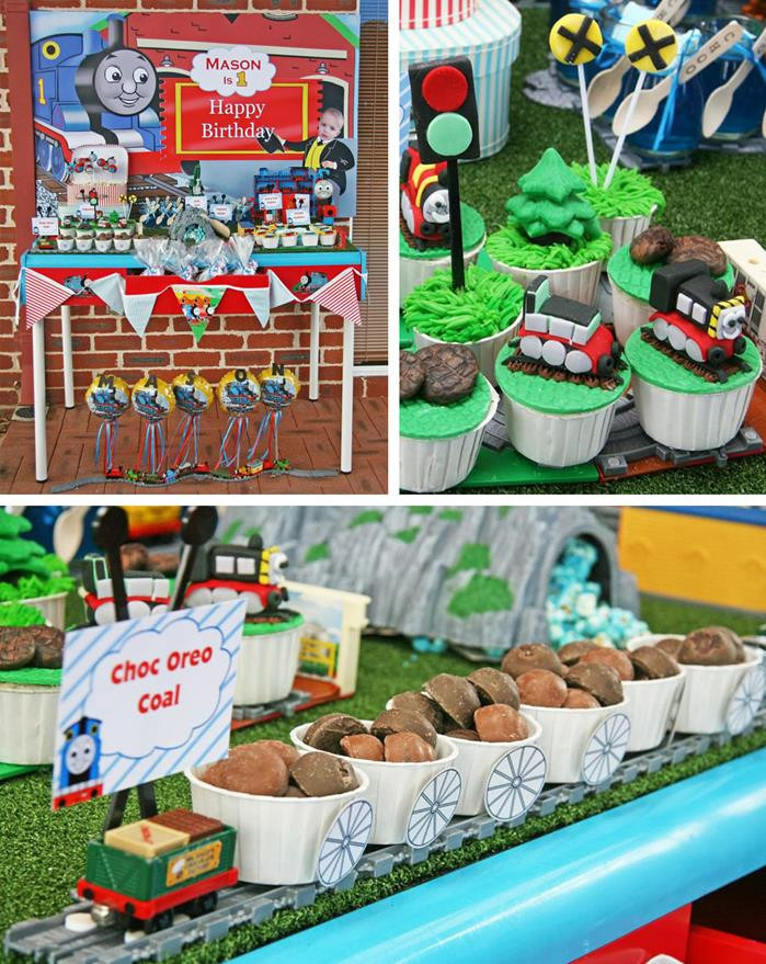 Best ideas about Thomas The Train Birthday Decorations . Save or Pin Kara s Party Ideas Thomas Train Birthday Party Planning Now.