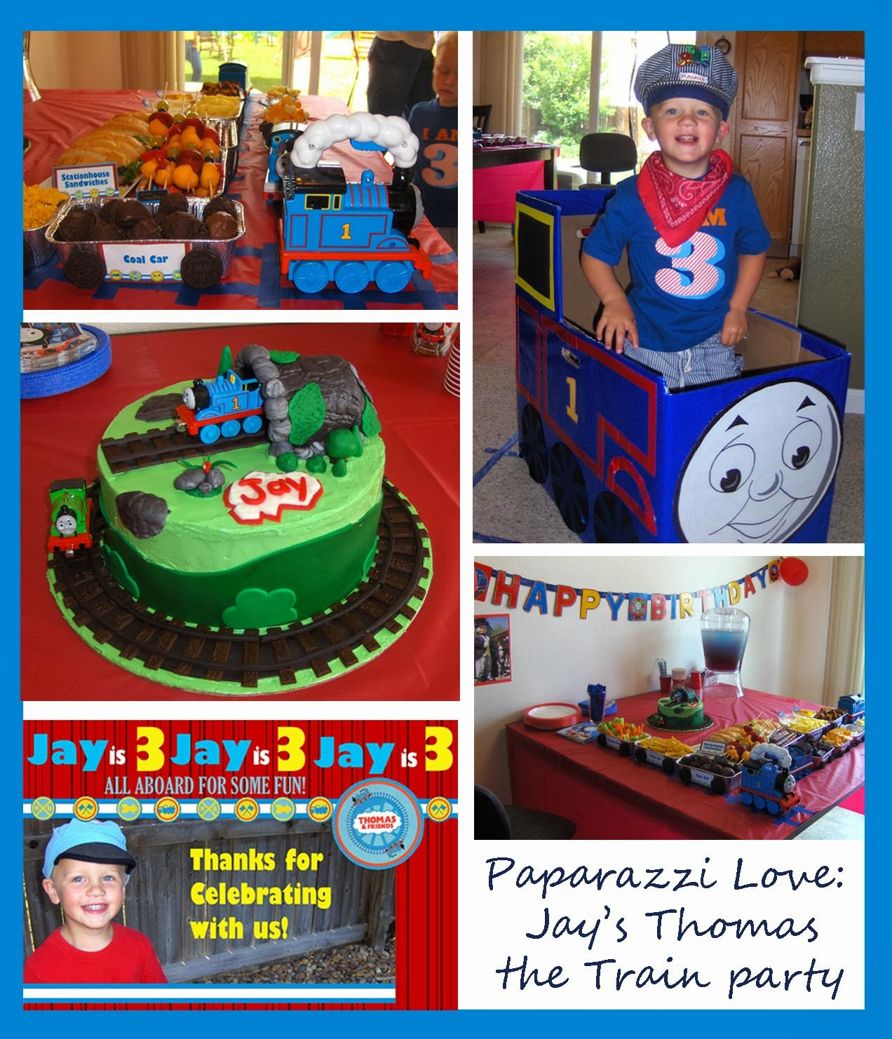 Best ideas about Thomas The Train Birthday Decorations . Save or Pin Paparazzi Love Jay s Thomas the Train Birthday Party Now.