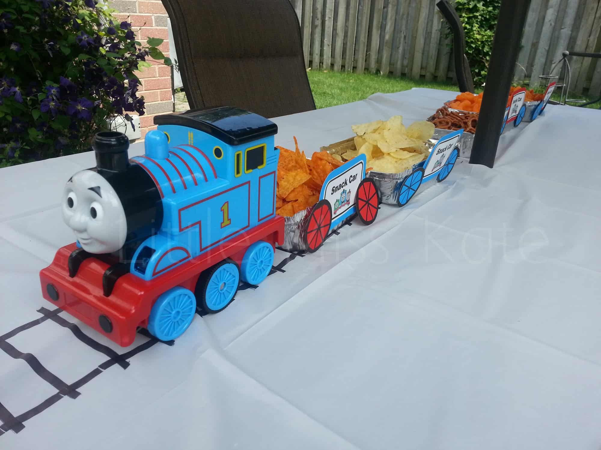 Best ideas about Thomas The Train Birthday Decorations . Save or Pin Kids Birthday Party Ideas Thomas the Train Party Ideas Now.