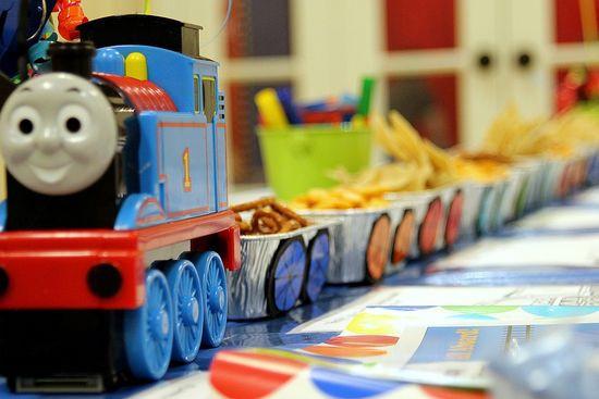 Best ideas about Thomas The Train Birthday Decorations . Save or Pin Thomas the Train Birthday Party Ideas Now.