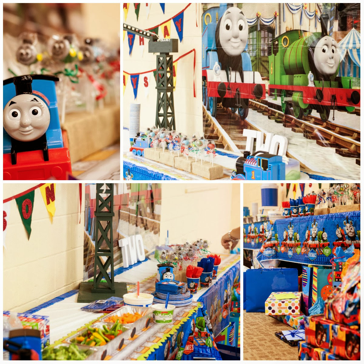 Best ideas about Thomas The Train Birthday Decorations . Save or Pin In this Crazy Life Thomas the Train Birthday Party The Now.