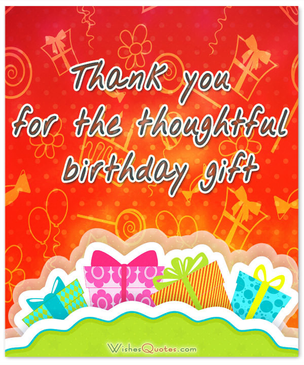 Best ideas about Thoughtful Birthday Wishes . Save or Pin Birthday Thank You Note Samples Now.