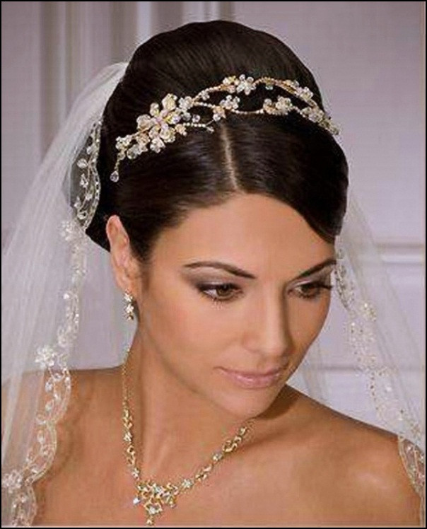 Best ideas about Tiara Hairstyles . Save or Pin 48 Gorgeous wedding hairstyles with tiara Hollywood Now.
