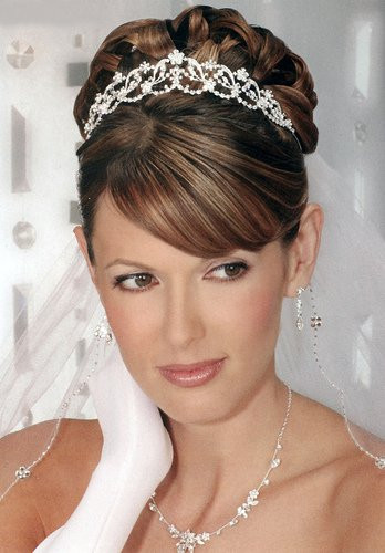 Best ideas about Tiara Hairstyles . Save or Pin thestylemongers wedding hair styles wallpapers Now.