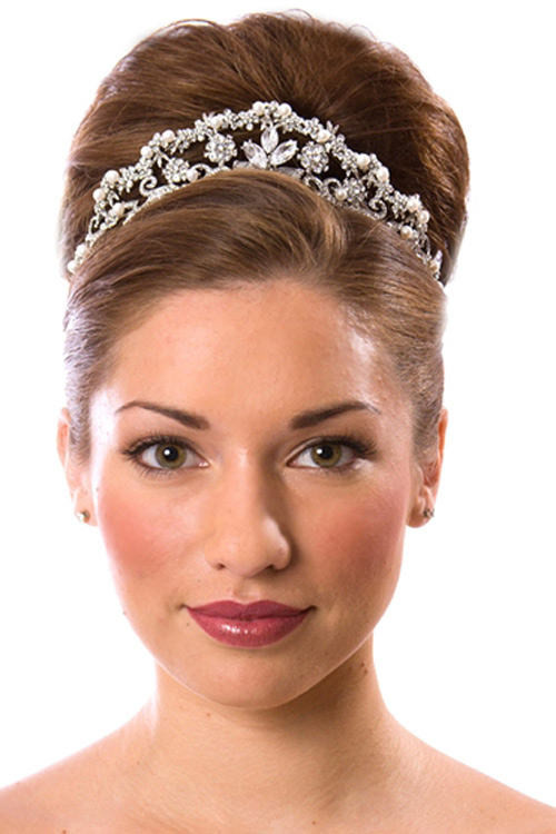 Best ideas about Tiara Hairstyles . Save or Pin Tiara Hairstyles Now.