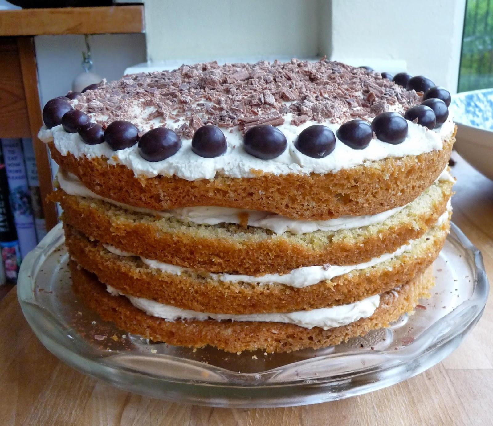 Best ideas about Tiramisu Birthday Cake . Save or Pin Lancashire Food CCC No 15 Tiramisu cake for Baking the Now.