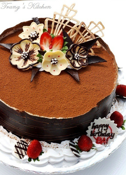 Best ideas about Tiramisu Birthday Cake . Save or Pin Flower Fantasy Tiramisu – For my Dad's Birthday Now.