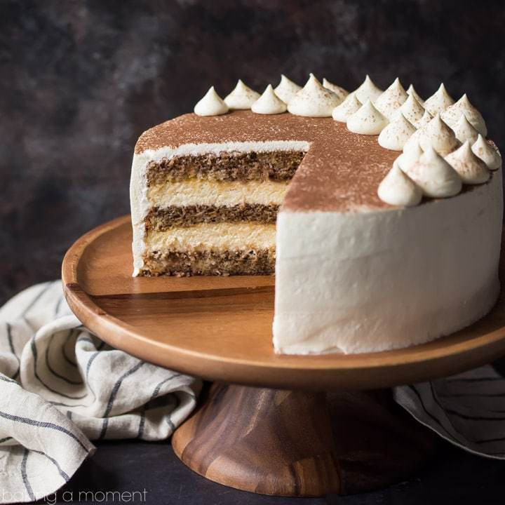 Best ideas about Tiramisu Birthday Cake . Save or Pin Tiramisu Cake just like the traditional Italian dessert Now.