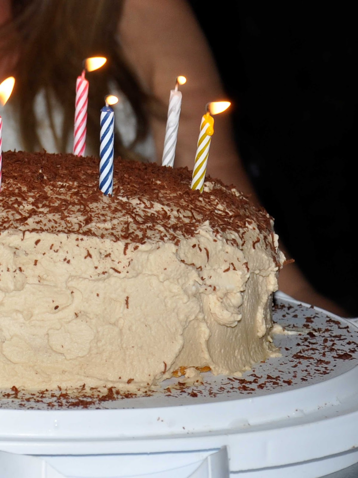 Best ideas about Tiramisu Birthday Cake . Save or Pin Maple Macaroni Tiramisu Birthday Cake Now.