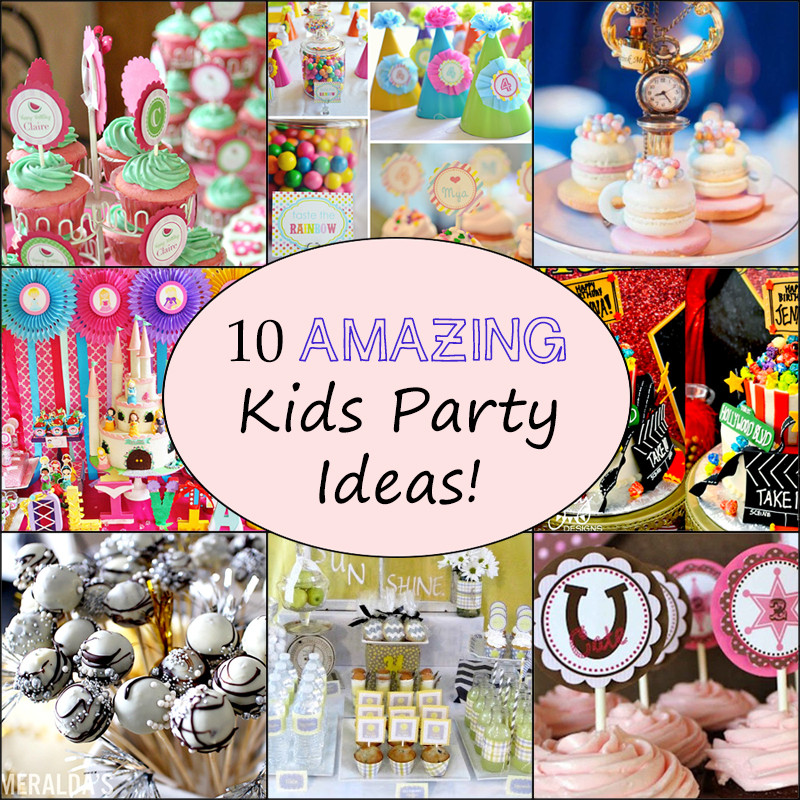 Best ideas about Toddler Birthday Party Ideas . Save or Pin 10 Awesome Kids Birthday Party Ideas Now.