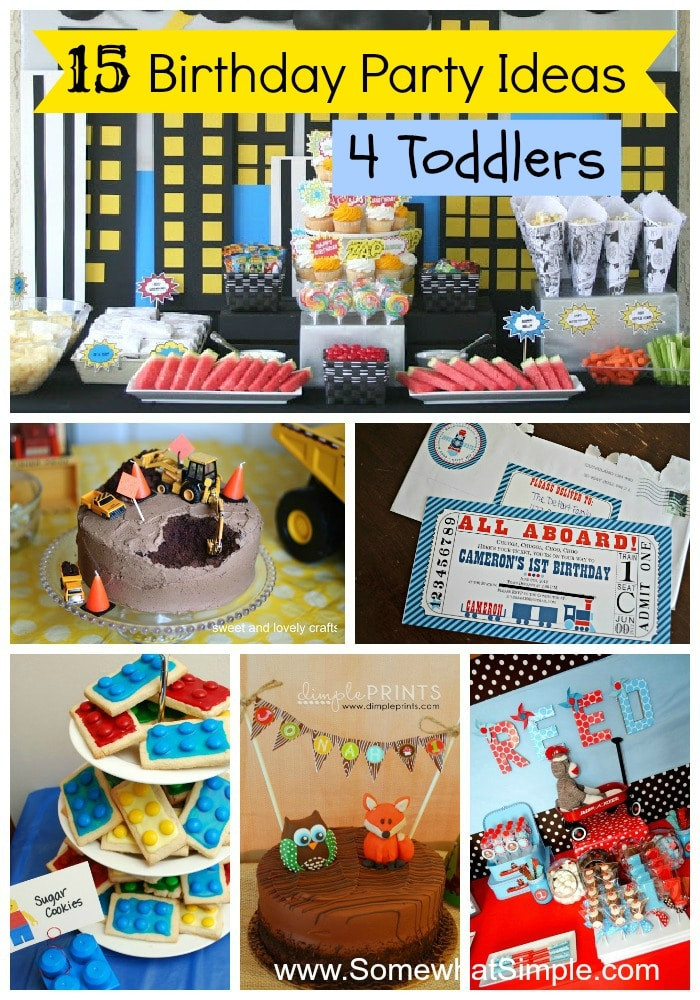 Best ideas about Toddler Birthday Party Ideas . Save or Pin 15 Birthday Party Ideas for Toddlers Now.