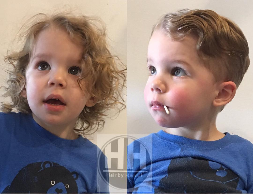 Best ideas about Toddler Boy Curly Haircuts . Save or Pin 25 Cool Haircuts For Boys 2017 Now.