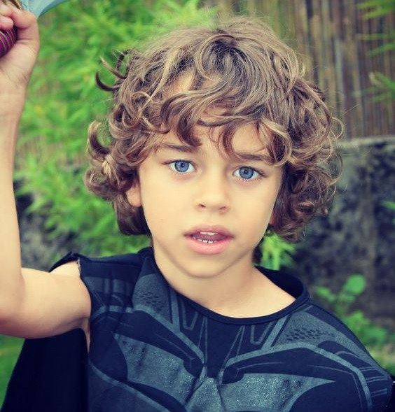 Best ideas about Toddler Boy Curly Haircuts . Save or Pin boys long curly hair Hair Pinterest Now.