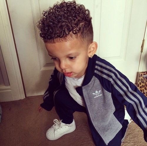 Best ideas about Toddler Boy Curly Haircuts . Save or Pin 17 Best ideas about Boys Curly Haircuts on Pinterest Now.