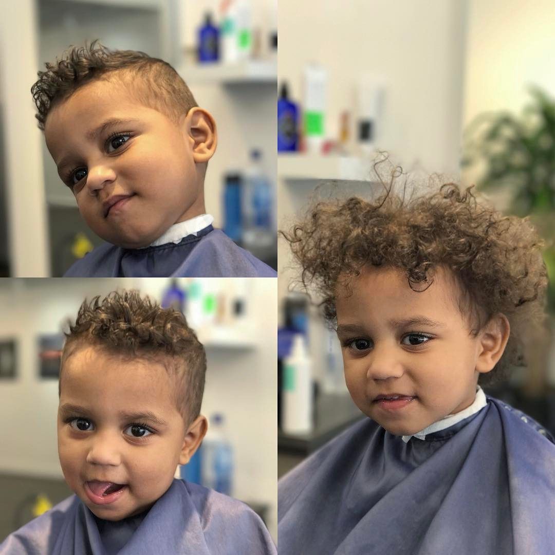 Best ideas about Toddler Boy Curly Haircuts . Save or Pin Toddler Boy Haircuts 2017 Now.
