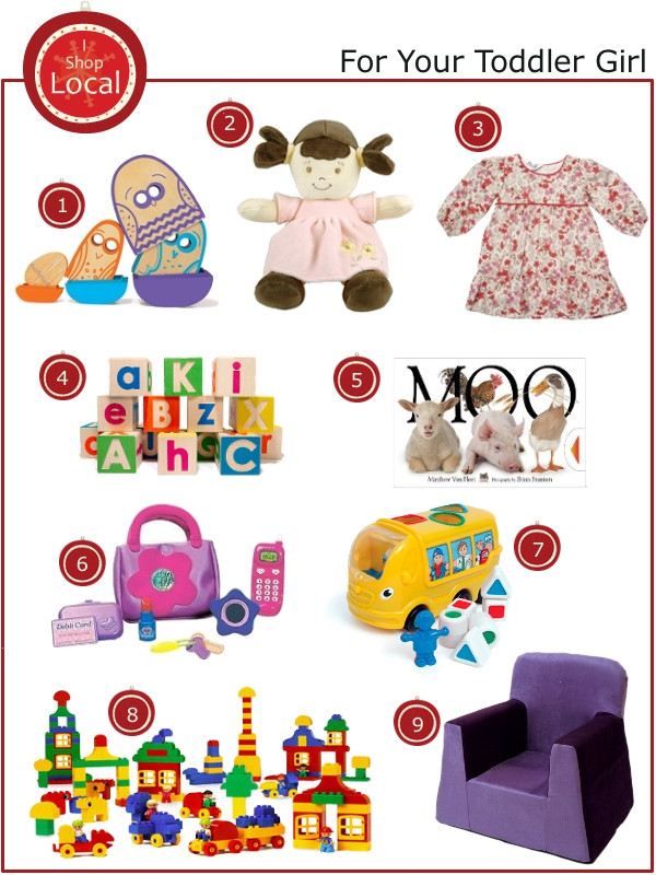 Best ideas about Toddler Girls Gift Ideas . Save or Pin Holiday Gift Guide Toddler Girl City and Baby What to Now.
