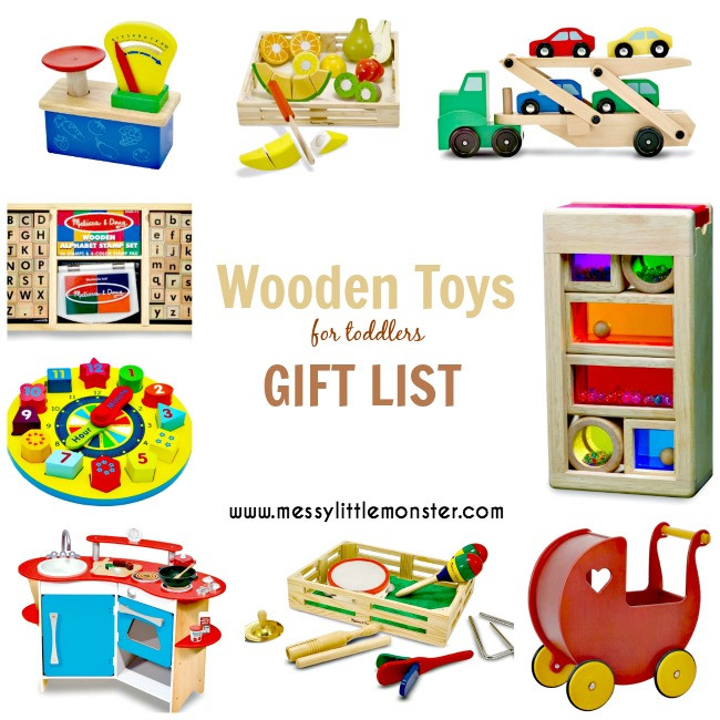 Best ideas about Toddler Girls Gift Ideas . Save or Pin Wooden Toys for Toddlers Messy Little Monster Now.