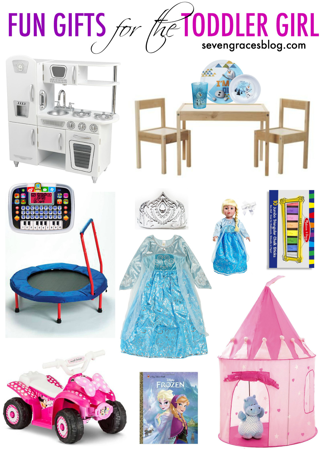 Best ideas about Toddler Girls Gift Ideas . Save or Pin Fun Gifts for the Toddler Girl Seven Graces Now.