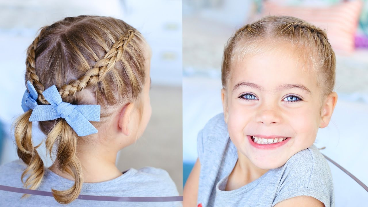 Best ideas about Toddler Girls Haircuts . Save or Pin Criss Cross Pigtails Toddler Hairstyles Now.