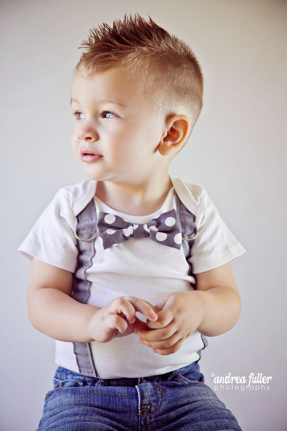 Best ideas about Toddlers Hairstyles Boys . Save or Pin Trendy short faux hawk hairstyle for toddler boys Now.