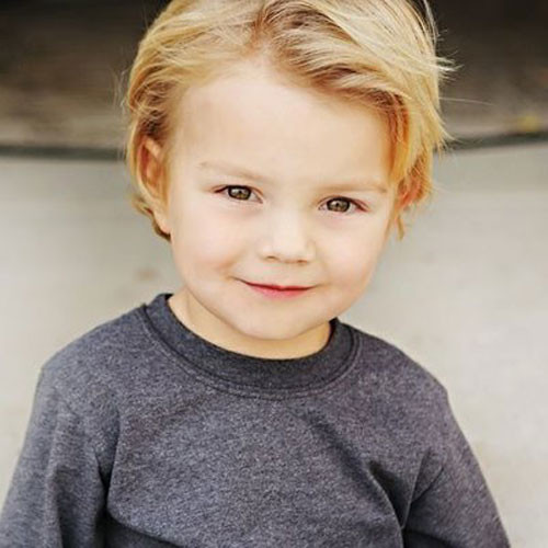 Best ideas about Toddlers Hairstyles Boys . Save or Pin 35 Cute Toddler Boy Haircuts 2019 Guide Now.