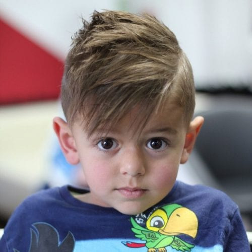 Best ideas about Toddlers Hairstyles Boys . Save or Pin 50 Cute Toddler Boy Haircuts Your Kids will Love Now.