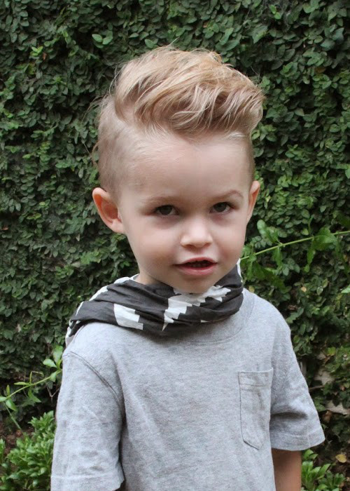 Best ideas about Toddlers Hairstyles Boys . Save or Pin 30 Toddler Boy Haircuts For Cute & Stylish Little Guys Now.