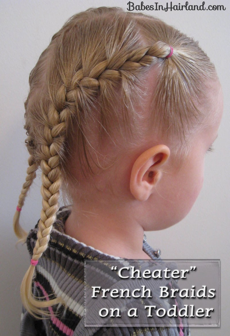 Best ideas about Toddlers Hairstyles For Girls . Save or Pin Toddler French Braids Babes In Hairland Now.