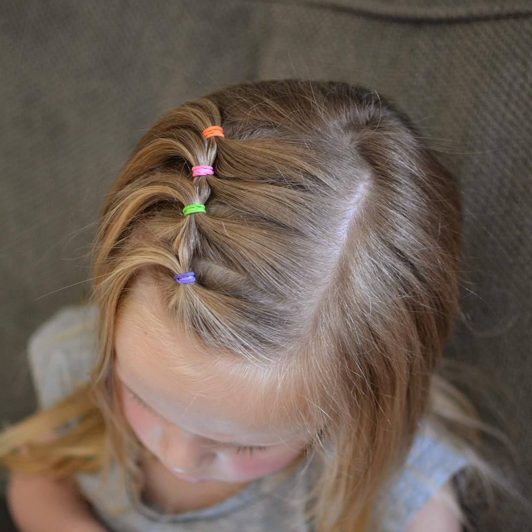 Best ideas about Toddlers Hairstyles For Girls . Save or Pin Super cute and easy toddler hairstyle Now.