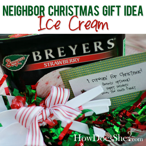 Best ideas about Top Ten Gift Ideas For Neighbors . Save or Pin Neighbor Christmas Gift Idea Now.